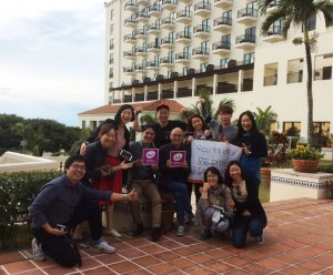 Meet with Richard Koo from Korea in Okinawa