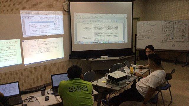 ちゅらまーいHa:mo事業計画会議