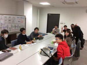 羽地コミュニティビジネス構築事業で学生さんと観光パンフづくり
